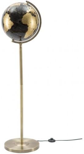 Stolová lampa v čierno-bronzovej farbe Mauro Ferretti Da Terra, výška 130 cm