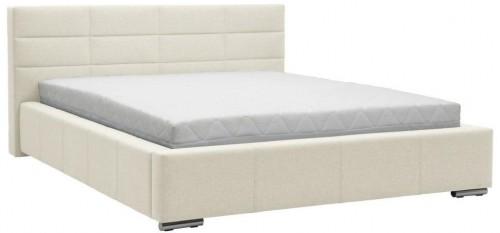 Béžová dvojlôžková posteľ Mazzini Beds Reve, 180×200cm