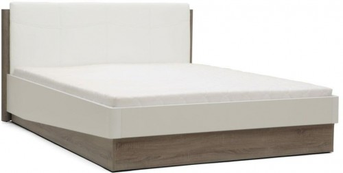 Biela dvojlôžková posteľ Mazzini Beds Dodo, 160×200cm