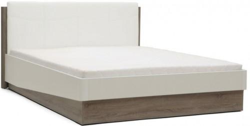 Biela dvojlôžková posteľ Mazzini Beds Dodo, 180×200cm