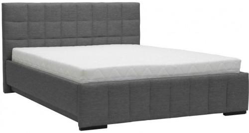 Sivá dvojlôžková posteľ Mazzini Beds Dream, 180×200cm