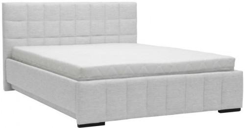 Svetlosivá dvojlôžková posteľ Mazzini Beds Dream, 180×200cm
