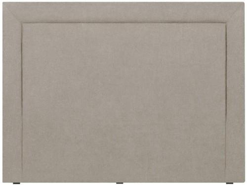 Krémové čelo postele Mazzini Sofas Ancona, 160×120cm