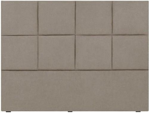 Krémové čelo postele Mazzini Sofas Barletta, 200×120cm