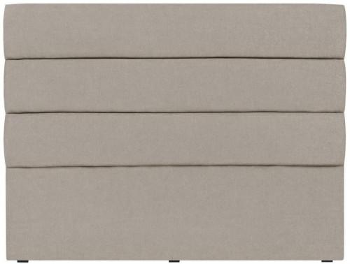 Krémové čelo postele Mazzini Sofas Pesaro, 200×120cm