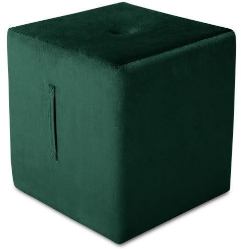 Zelený puf Mazzini Sofas Margaret, 40 × 45 cm