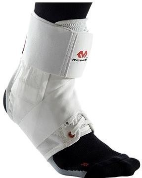 McDavid Ankle Brace With Straps, bílá XL