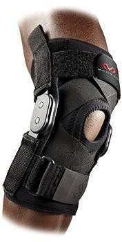 McDavid Hinged Knee Brace with Crossing Straps 429X, černá S