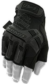 Mechanix M-Pact, černé, bezprsté, velikost: L