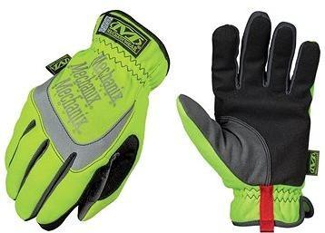 Mechanix Safety FastFit - bezpečnostní, žluté reflexní, velikost XL