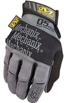 Mechanix Specialty 0,5 mm, šedo-černé, velikost: L