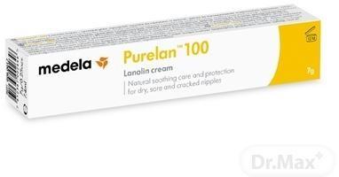 MEDELA PureLan 100 masť na ošetrenie bradaviek (lanolín) 1x7 g