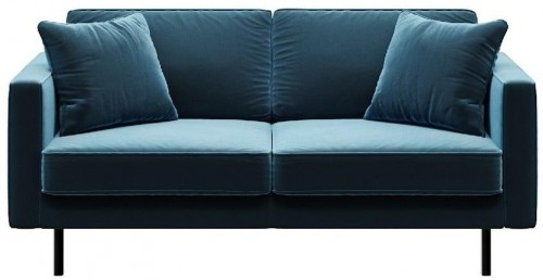 Modrá dvojmiestna pohovka MESONICA Kobo