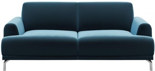Modrá dvojmiestna pohovka MESONICA Puzzo