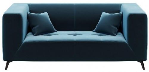 Modrá dvojmiestna pohovka MESONICA Toro