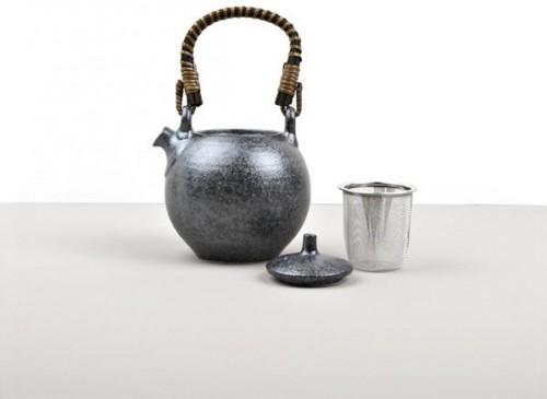 Čajová kanvica so sitkom Craft Black 450ml