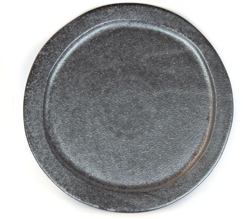 Guľatý tanier Craft Black 24,5 cm