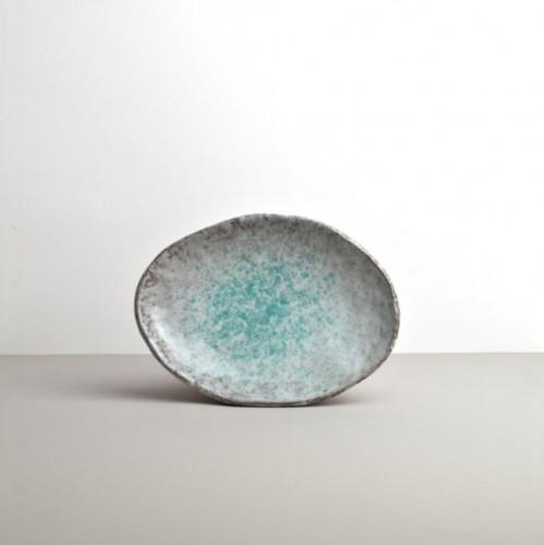 Oválný tanier AQUA SPLASH 20x14 cm