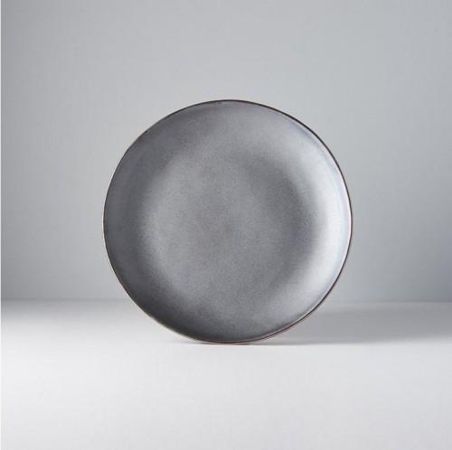Plytký tanier Modern metalický 24 cm