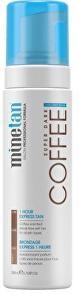 Minetan Samoopaľovacie pena pre tmavé opálenie Coffee Coconut Water (Super Dark 1 Hour Express Tan) 200 ml