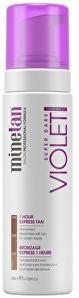 Minetan Samoopaľovacie pena pre tmavé opálenie Violet (Super Dark 1 Hour Express Tan) 200 ml