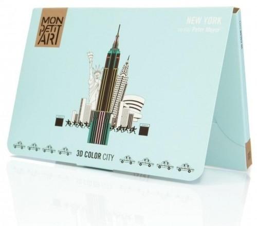Panoramatická skladačka Mon Petit Art New York