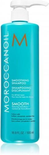 Moroccanoil Smooth obnovujúci šampón pre uhladenie a výživu suchých a nepoddajných vlasov 500 ml