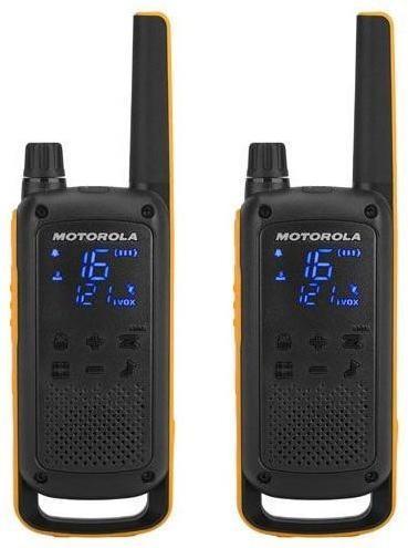 Vysielačky Motorola Tlkr T82 Extreme čierny/žltý (D8p00811ydemag... Vysílačky