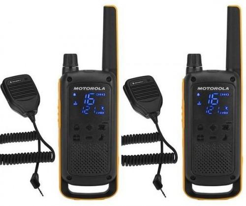 Vysielačky Motorola Tlkr T82 Extreme RSM Pack čierny/žltý... Vysílačky