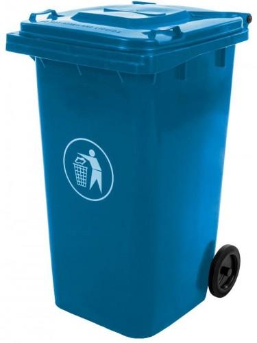 NABBI Mulltonne 240 L popolnica modrá