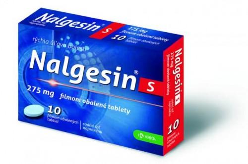 Nalgesin S tbl flm 275 mg (blis.Al/PVC) 1x10 ks
