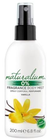 Naturalium Telový sprej Vanilka (Fragrance Body Mist) 200 ml