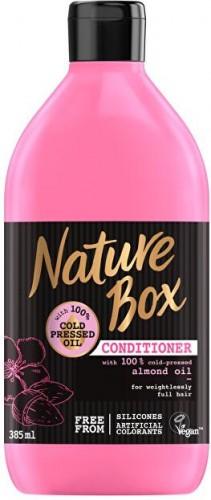 Nature Box Prírodné balzam na vlasy Almond Oil (Conditioner) 385 ml