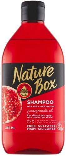 Nature Box Šampón na vlasy Granátové jablko (Shampoo) 385 ml