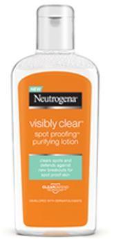 Neutrogena Micelárne čistiace tonikum Visibly Clear Spot Proofing (Purifying Lotion) 200 ml