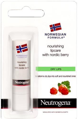 Neutrogena Výživný balzám na pery Nordic Berry (Nourishing Lipcare) 4,8 g