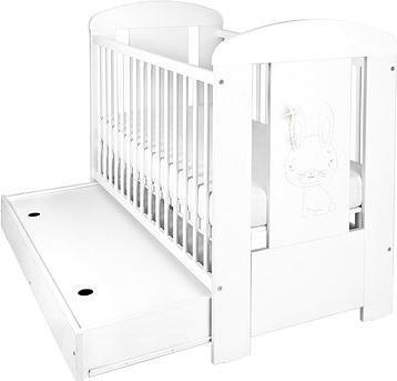 New Baby Králíček se šuplíkem - bílá
