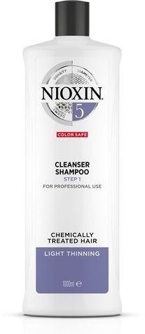 Nioxin Čistiace šampón pre farbené ľahko rednúce vlasy System 5 (Shampoo Cleanser System 5 ) 300 ml