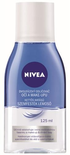 Nivea Dvojfázový odličovač očí a make-upu 125 ml