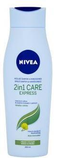 Nivea Hair Care Express šampón a kondicionér pre všetky typy vlasov 250 ml