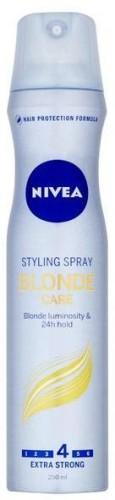 Nivea Lak na vlasy pre lesk blond vlasov Brilliant Blonde ( Styling Spray) 250 ml