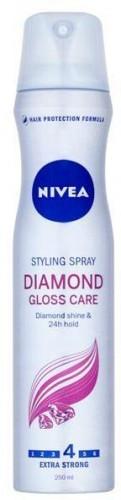 Nivea Lak na vlasy pre oslňujúci lesk vlasov Diamond Gloss 250 ml