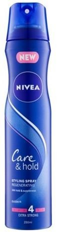 Nivea Regeneračný lak na vlasy Care & Hold ( Hair spray Regenerating) 250 ml