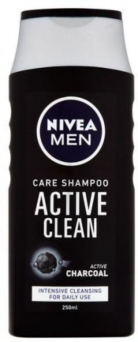 Nivea Šampón s aktívnym uhlím pre mužov Active Clean 250 ml