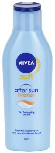 Nivea Sun After Sun & Bronze mlieko po opaľovaní predlžujúce opálenie 200 ml