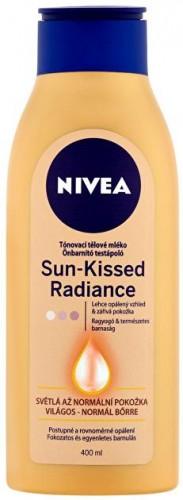 Nivea Tónovacie telové mlieko (Sun Kissed Radiance Milk) 400 ml Light
