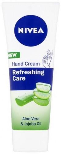 Nivea Upokojujúci krém na ruky s aloe vera a jojobou Refreshing Care (Hand Cream) 75 ml