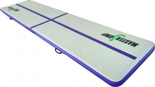 Airtrack MASTERJUMP nafukovacia žinenka 400 x 100 x 10 cm - fialová