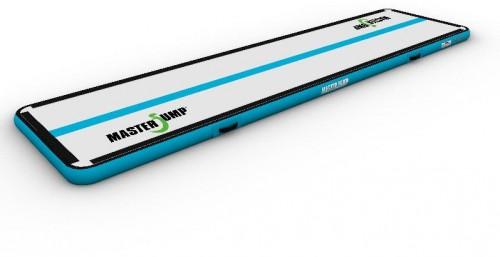 Airtrack MASTERJUMP nafukovacia žinenka 400 x 100 x 10 cm - sivo-modrozelená