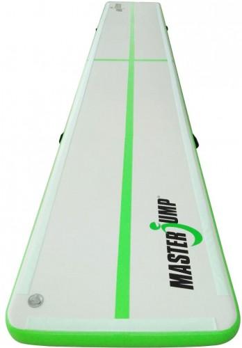 Airtrack MASTERJUMP nafukovacia žinenka 600 x 100 x 10 cm - zelená